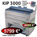 Kip 3000 - Plotter / Copiator / Scanner A0 Laser