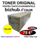 Toner Original Konica Minolta Refill Yellow