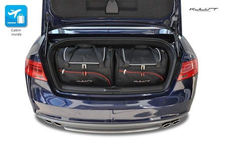 AUDI A5 Cabrio 2008-2016, set de 4 bagaje