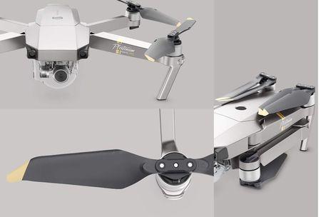Drona cu tehnologie 4K DJI Mavic Pro Platinum, Resigilat