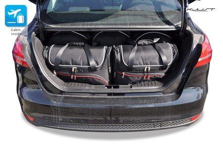 FORD FOCUS LIMOUSINE 2011+2018 CAR BAGS SET 5 PCS