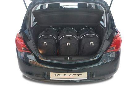 OPEL CORSA 2014+ CAR BAGS SET 3 PCS
