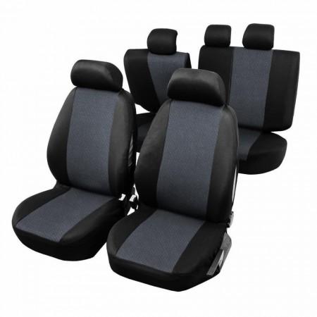 Huse Scaune Auto cu airbag pt bancheta rabatabila fractionata, 9 bucati