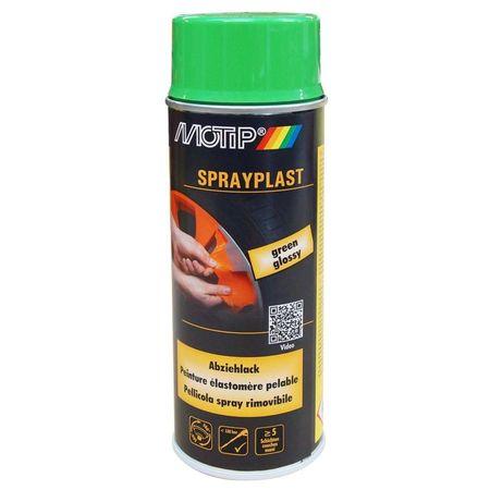 MOTIP Sprayplast vopsea folie verde 400ml cod 396557
