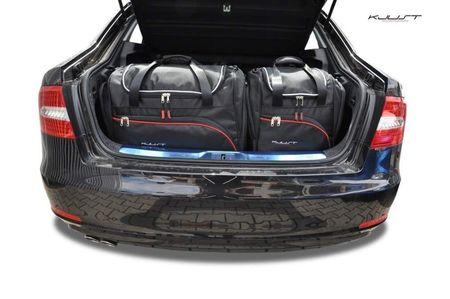 SKODA SUPERB LIMOUSINE 2008-2015 CAR BAGS SET 5 PCS