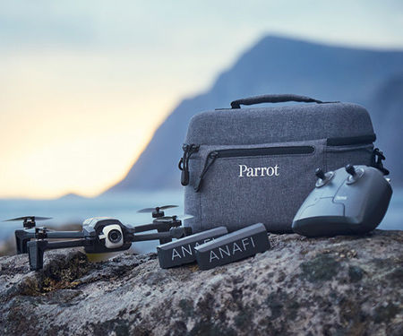 Drona cu tehnologie 4K Parrot ANAFI Extended