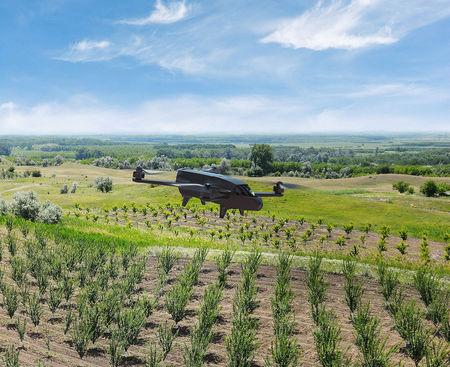 Drona PRO agricultura Parrot Bluegrass Fields