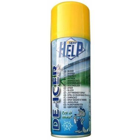 Spray dezghetat geamuri Super Help, 200 ml