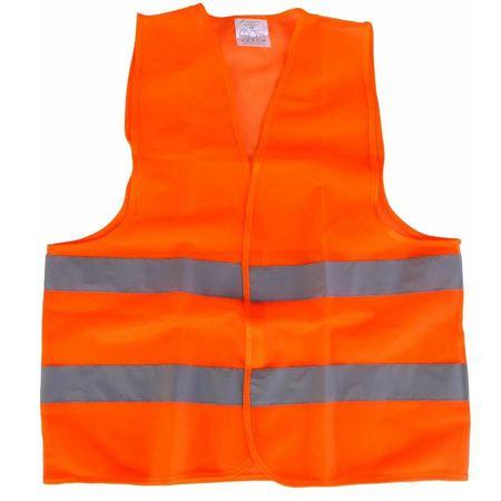 Vesta reflectorizanta omologata RoGroup, portocalie