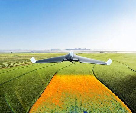 Drona PRO agricultura Parrot DISCO PRO-AG, produs utilizat