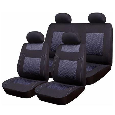 Huse Scaune Auto RoGroup Premium Line, pentru bancheta rabatabila. 9 bucati
