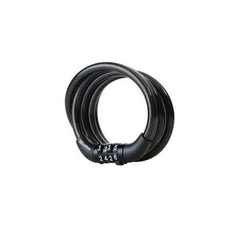 MASTERLOCK Cablu 8143EURDPRO bicicleta, otel imbracat in vinil, inchidere cu cifru, dimensiuni °8mm