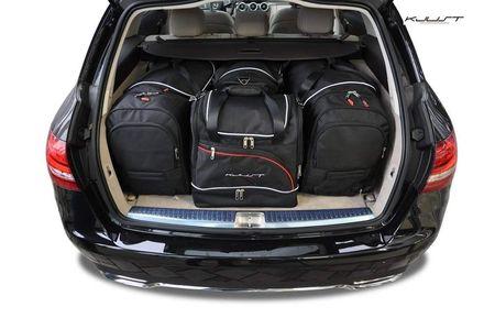 Mercedes Benz C Combi 2014+ Set de 4 bagaje