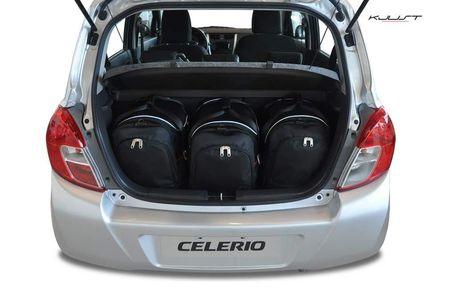SUZUKI CELERIO 2014+ CAR BAGS SET 3 PCS