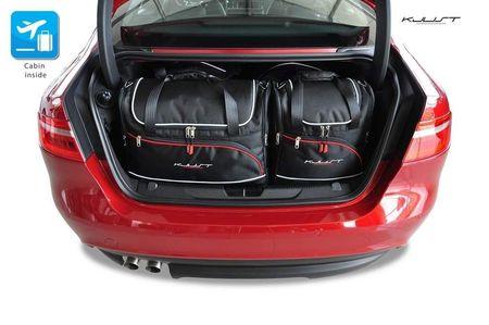 JAGUAR XE 2015+ CAR BAGS SET 4 PCS