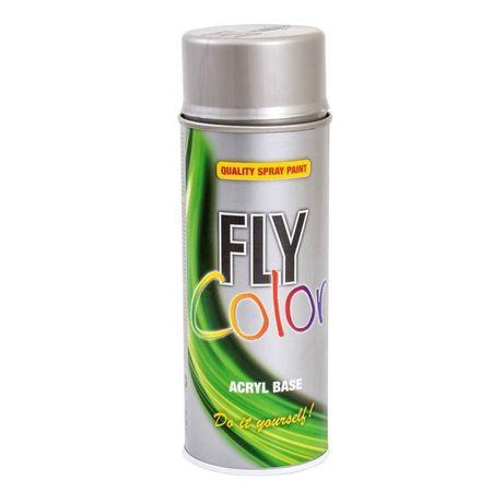 DUPLICOLOR Fly Color argintiu RAL 9006 - 400ml cod 416767