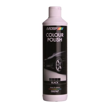 MOTIP Colour Polish - polis color negru - 500ml cod 747BS