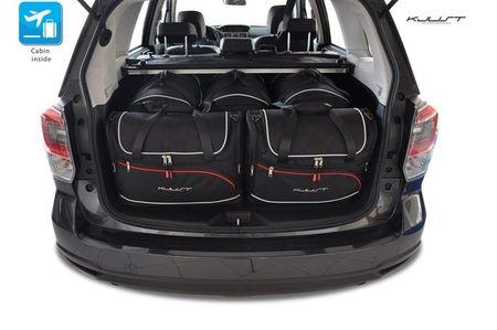 SUBARU FORESTER 2012+ CAR BAGS SET 5 PCS