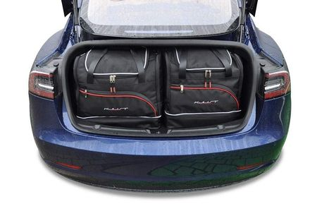 TESLA MODEL 3 2017+ CAR BAGS SET 5 PCS