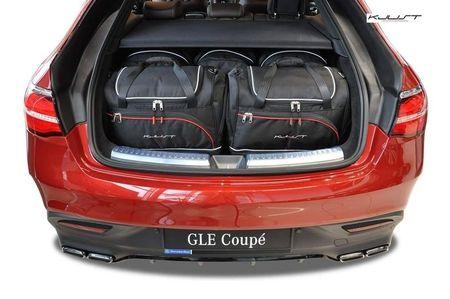 Mercedes Benz GLE Coupe 2015+ Set de 5 bagaje