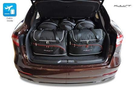 MASERATI LEVANTE 2016+ CAR BAGS SET 5 PCS