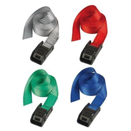 MASTERLOCK Chinga 3112EURDATCOL cu catarama din zamac, diverse culori, dimensiuni 25mm x 5m, capaci