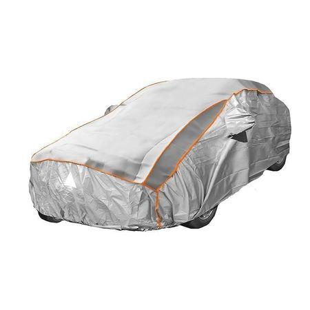 Prelata auto impermeabila cu protectie pentru grindina RoGroup, 3 straturi, marimea XL
