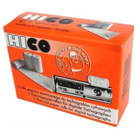 Set hartie termica tahograf HICO, 3 buc/set