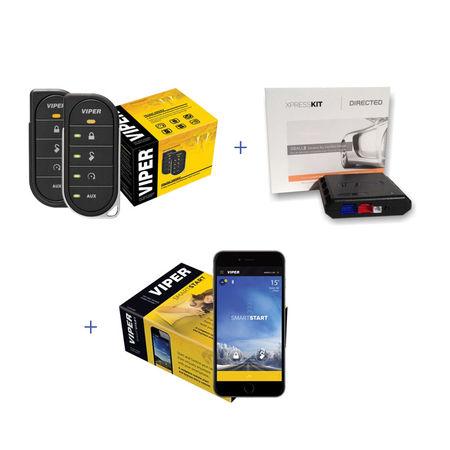 Sistem complet pornire motor din smartphone Viper 5806V/DBALL2/DSM250i