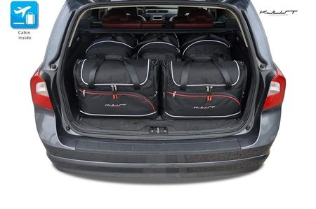 VOLVO V70 2007-2016 CAR BAGS SET 5 PCS