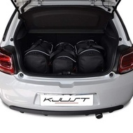CITROEN DS3 HATCHBACK 2009+ CAR BAGS SET 3 PCS