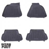 Covorase Presuri Auto Negru din Cauciuc pentru AUDI A6 4F C6 (2008-2011) Floor mat