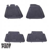 Covorase Presuri Auto Negru din Cauciuc pentru PEUGEOT 508, 508 SW 2011-, 508 RXH (Hybrid) 2012-