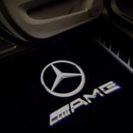 Set 2 proiectoare logo holograma auto cu led/ Performance