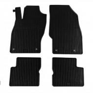 Set 4 covorase auto din cauciuc, negru, pentru pentru OPEL Corsa D 10/2006-10/2014-