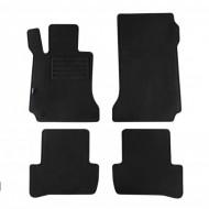 Set 4 covorase auto din mocheta, negru, pentru pentru MERCEDES C-Klasse (W204) 03/2007-02/2014, T-Modell (S204) 11/2007-08/2014-