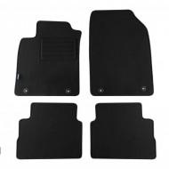 Set 4 covorase auto din mocheta, negru, pentru pentru OPEL Vectra C 2004-10/2008-