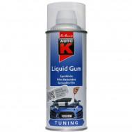 Spray vopsea cauciucata Auto-K Liquid Gum, detasabila, transparent, 400 ml