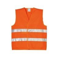 Vesta de semnalizare portocaliu neon Bruno BE-04-003/9194