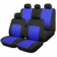 Huse Scaune Auto RoGroup Oxford Albastru 9 Bucati