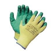 Manusi cu pelicula din cauciuc in palma verzi HS-04-002 - mar.8-10