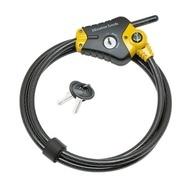 MASTERLOCK Cablu 8420EURD bicicleta, blocare ajustabila, dimensiuni °10mm x 4,50m