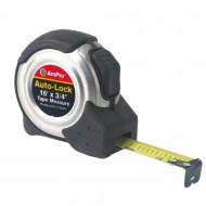 Ruleta 3m x 16mm AmPro, cu buton de blocare