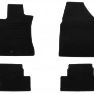 Set 4 covorase auto din mocheta, negru, pentru pentru NISSAN Qashqai 02/2007-02/2014-