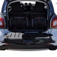 SMART FORTWO COUPE 2014+ CAR BAGS SET 2 PCS