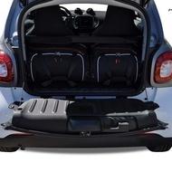 SMART FORTWO COUPE 2014+ CAR BAGS SET 2 PCS
