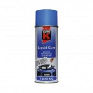 Spray vopsea cauciucata Auto-K Liquid Gum, detasabila, albastru, 400 ml