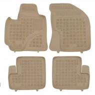 Covorase Presuri Auto din cauciuc Bej pentru Toyota RAV4 II Facelift (2003-2005) 5 Usi