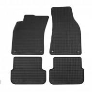 Covorase Presuri Auto Negru din Cauciuc pentru AUDI A6 C6 Sedan 2004-2008, A6 Avant, A6 Allroad Quattro 2004-2011