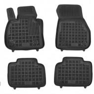 Covorase Presuri Auto Negru din Cauciuc pentru BMW X1 (F48) 2015-
